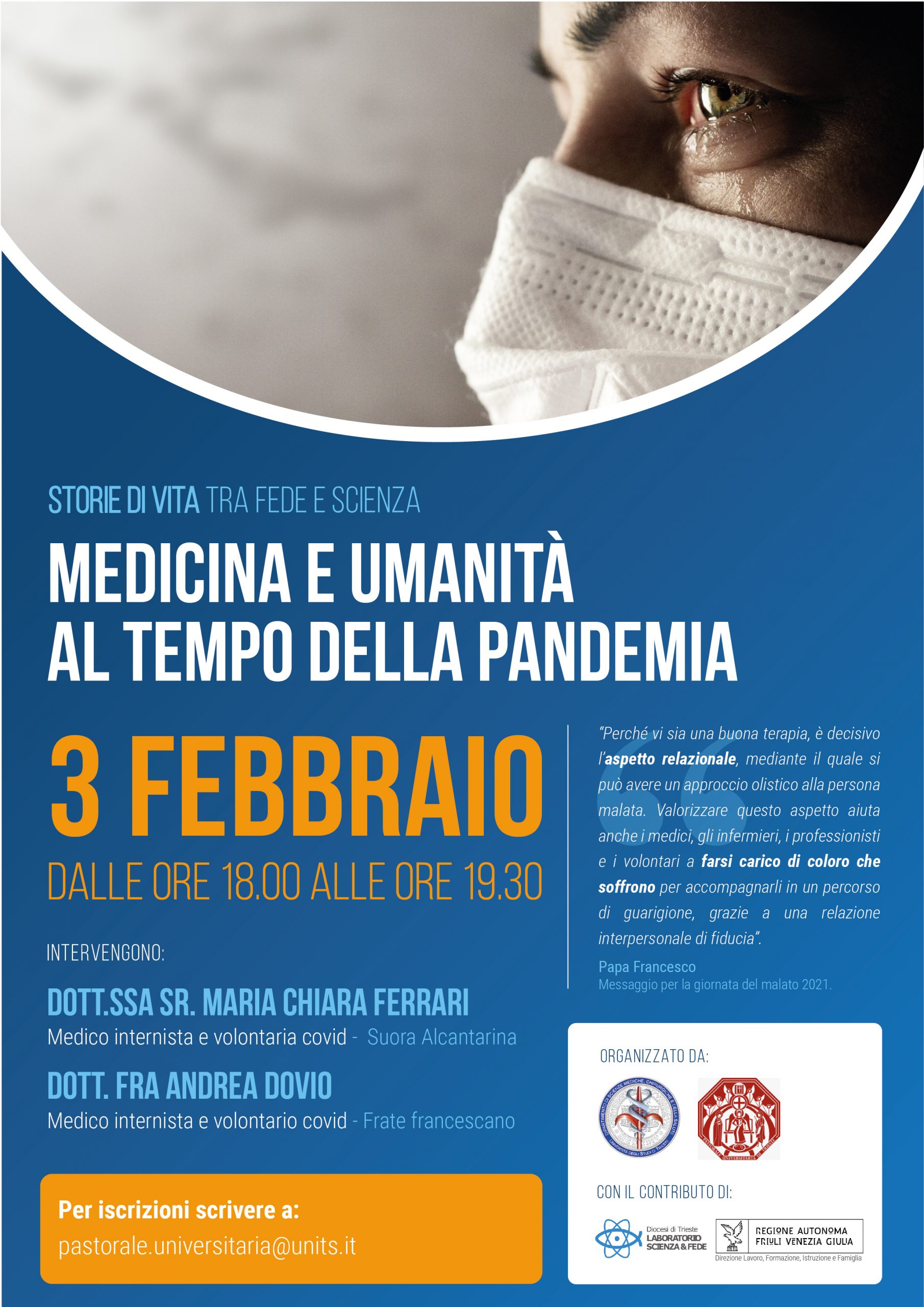 Medicina e umanità al tempo della pandemia